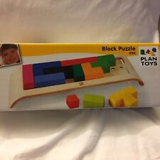 Plan Toys Block Puzzle