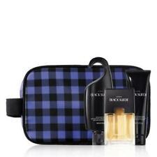 Avon Holiday Dopp Kit - Black Suede 4 piece set-New _Free ship