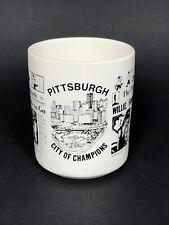 Pittsburgh City of Champions Pittsburgh Press Coffee Tea Mug Collectible