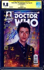 Doctor Who Tenth Dr Year Two #12 PHOTO VARIANT CGC SS 9.8 signed David Tennant