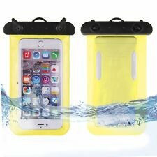 Waterproof Underwater Pouch Arm Band Bag Case Cover For Cell Phone Touchscreen