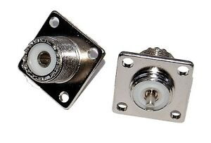 PL259 SO239 Female Chassis Mount Socket  x1