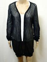 ELLERY CARDIGAN ~ SIZE S ~ NEW W/O TAGS FISHNET STYLE MESH DESIGN JUMPER SWEATER