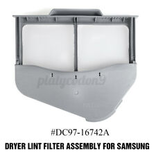 Dc97-16742A Dryer Screen Lint Filter Assembly w/ Case Compatible For Samsung