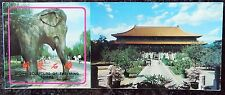 7  x 2 Photographs Detachable Postcards Book - Stone Sculpture Ming Tombs China