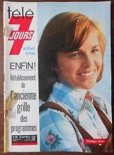 ►TELE 7 JOURS 679/1973 - VERONIQUE JANNOT - LENORMAN - LINE RENAUD - MEEKS