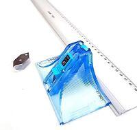 Jakar Picture Photo Mount Board Cutter & 60cm Metal Guide Ruler Set Spare Blades