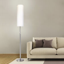 LED Stehleuchte 2000lm Edelstahl Stand Stoffschirm Deckenfluter Dimmbar ST21-1 *