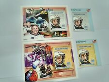 Chad 2004  astronaut space  gold and silver MICHEL No,2494-2495  BL402-403
