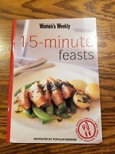 Womens Weekly mini cookbook 15 MINUTE FEASTS EUC