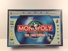 Monopoly The .com Edition Board Game Pre-owned Complete Pewter Mr. Monopoly