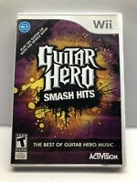 Game Guitar Hero Smash Hits - Nintendo Wii 2009 - Complete Tested Working
