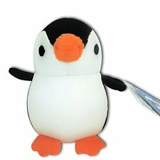 Baby Black Penguin Stuffed Animals Soft Plush Microbead Foam Particles Keychain