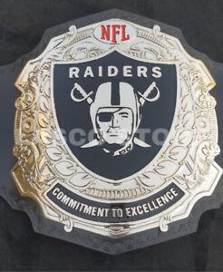 Lasco's NFL Oakland Raiders Championship Title Belt
