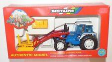 FAM03 - Britains boxed set 9617 Ford 5610 Tractor and Front Loader