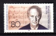 Germany / Berlin - 1986 Wilhelm Furtwängler (Conductor) / Music - Mi. 750 MNH