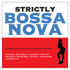 Strictly Bossa Nova - 40 Original Bossa Nova Grooves (2CD 2017) NEW/SEALED