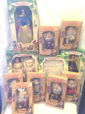 BIKIN DOLLS DISNEY SNOW WHITE & SEVEN DWARFS 11 DOLLS + 1 OUTFIT FOR 11-1/2""