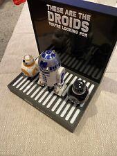 Aussteller Star Wars Sphero Selten Sammler RAR Deko Aufsteller R2-D2 BB-8 BB-9E