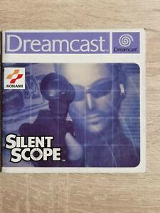 Silent Scope Sega Dreamcast (Manual Only)