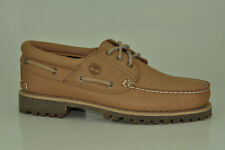 Timberland Authentics Classic 3-Eye Lug Boat Shoes Limited Release Men A1JSA