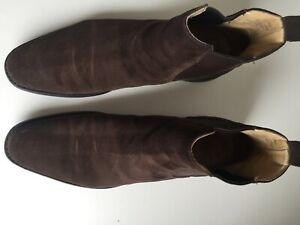 Church's, Chelsea-Boots Suede, UK 8,5 F last 136