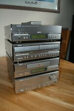 Denon  D-110 Personal Component System -Tuner-CD Player-Tape Deck-Amplifier