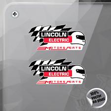 PEGATINA LINCOLN ELECTRIC MOTORSPORTS DECAL STICKER AUFKLEBER AUTOCOLLANT
