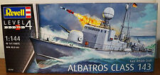 Revell Germany Fast Attack Craft Albatros Class 143 plastic model kit 1/144