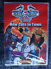 BIKER MICE FROM MARS - DVD - New Cats in Town - NEW - UK DVD