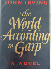 THE WORLD ACCORDING TO GARP BY JOHN IRVING  *FIRST ED*