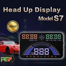 "New S7 5.8"" Head Up Display OBD2 & GPS Windscreen Speedometer Sys For Audi A6 A8"