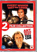 ANY WHICH WAY YOU CAN + EVERY WHICH WAY BUT LOOSE  Region 4 DVD  CLINT EASTWOOD