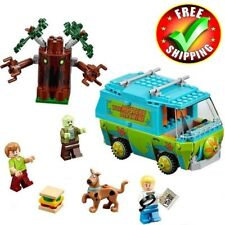 Scooby Doo Mystery Machine Building Block Model Educational Toys For Children