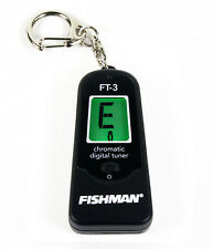 FISHMAN ft-3 digitale cromatico ACCORDATORE PORTACHIAVI per tutti gli strumenti