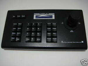 CCTV Keyboard Controller w/ LCD Display f PTZ camera