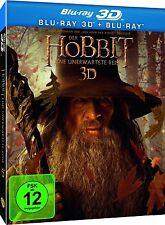 DER HOBBIT, Eine unerwartete Reise (Blu-ray 3D + Blu-rayDisc) Lenticular NEU+OVP