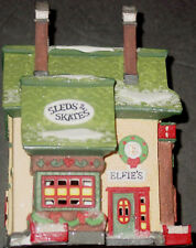 DEPT 56 Elfie's Sleds & Skates North Pole Series 5625-1