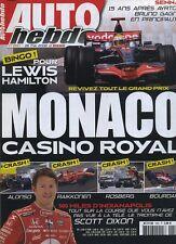 AUTO HEBDO n°1650 du 28 Mai 2008 GP MONACO INDY 500 NISSAN GT-R