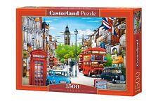 Castorland C-151271 Puzzle London Stadt Innenstadt City Big Ben 1500 Teile