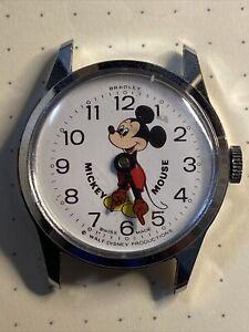 mickey mouse watch vintage bradley