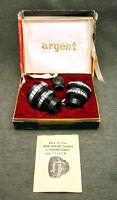 Vintage DeLuxe Polaroid Cameras Argent Model V Telephoto Wide Angle Lens Kit