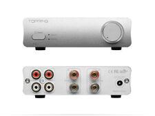 Topping PA3 UPDATE TP22 80W x 2 2 INPUT Mini Amplifier TDA7498E Hi-Fi MCU SILVER