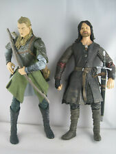 """Lord Of The Rings 2003  12"""" Action Figures Legolas / Aragorn - Error Figure"""