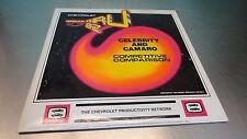 Chevrolet Break Thru 82 1982 Celebrity & Camaro Dealership Training Video Disc