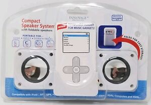 Innovage Compact Speaker System for iPod MP3 PSP NDS  Sealed New