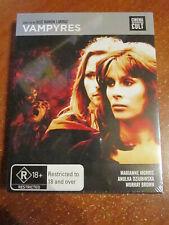 Dvd Blu-Ray Vampyres Brand New Sealed * Great Dvd *