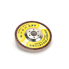 """5Pcs 4"""" Polishing Disc Wheel Buffing Pad For Electric Grinder Marble Stone 400#"""