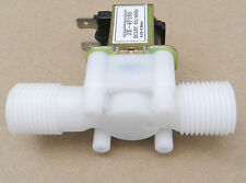 1/2'' Plastic Normally Closed (N/C) Solenoid Valve Water Flow Control DC24V