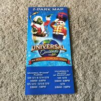 Vintage Universal Studios Florida Islands of Adventure Grinchmas 2009